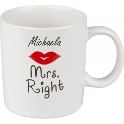"Tasse ""Mrs. Right"""