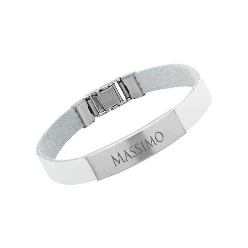 Image of Armband mit Gravur in Silber