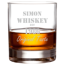 "Whiskyglas ""Original Taste"""